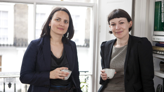 Dana Denis-Smith and Charlotte Devlin, founders of Obelisk Legal Support, a company that allows highly qualified former City lawyers to work flexibly from home to fit in with family commitments.