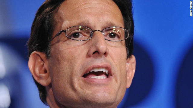 Cantor on Obama outreach: 'I hope he is sincere'