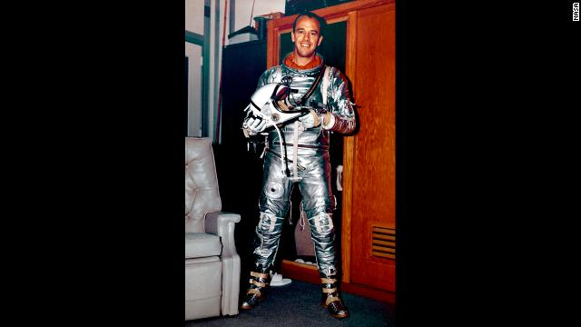 Less than a month after Gagarin's trip, NASA astronaut Alan Shepard became the second person and first American to travel into space. On May 5, 1961, Shepard piloted Freedom 7 in a suborbital flight.