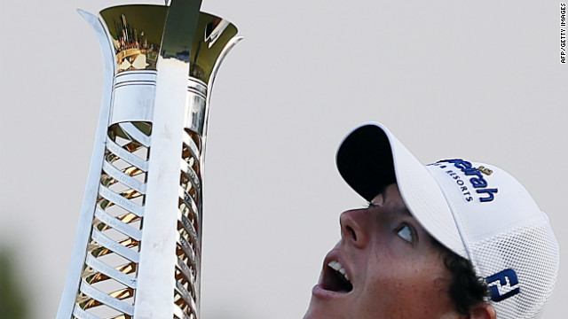McIlroy on top of the world
