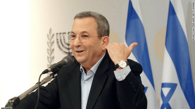 Israeli Defense Minister Barak says he's quitting politics