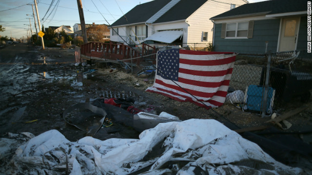 The U.S. must meet challenges such as climate change and failing infrastructure to lead in the world, says Patrick Doherty.