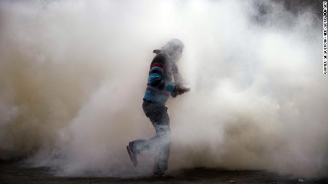 Los egipcios retoman las protestas en la Plaza Tahrir
