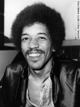 Jimi Hendrix wasn't with us for long, but his influence both in life and in death is staggeringly broad. As <a href='http://lightbox.time.com/2012/11/27/happy-70th-birthday-jimi-hendrix-photos-of-an-incendiary-talent/#5' target='_blank'>Time magazine</a> points out, you can hear him in everyone from Metallica to Prince to ZZ Top to the Red Hot Chili Peppers. The music and style legend would have turned 70 on Tuesday, November 27, and we're celebrating by looking back at Hendrix in his heyday.