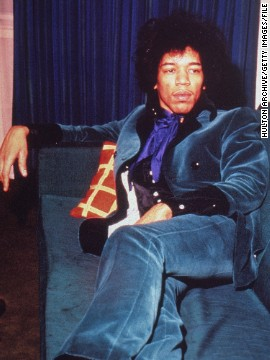 Born in Seattle in 1942, Hendrix taught himself to play guitar as a teenager and played in high school bands before enlisting in the Army, according to &lt;a href='http://www.rollingstone.com/music/artists/jimi-hendrix/biography' target='_blank'&gt;Rolling Stone&lt;/a&gt;. By the early '60s, Hendrix had been discharged and was playing backup for acts including Sam Cooke, B.B. King, Little Richard and the Isley Brothers.