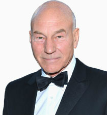 Patrick Stewart's weird holiday video