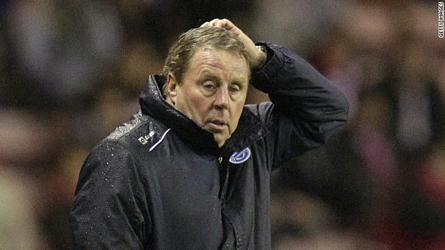 Harry Redknapp's QPR are still the only one of English football's 92 clubs without a league win all season.