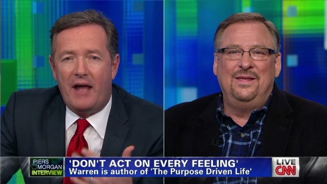 from Yadiel beliefnet rick warren gay marriage