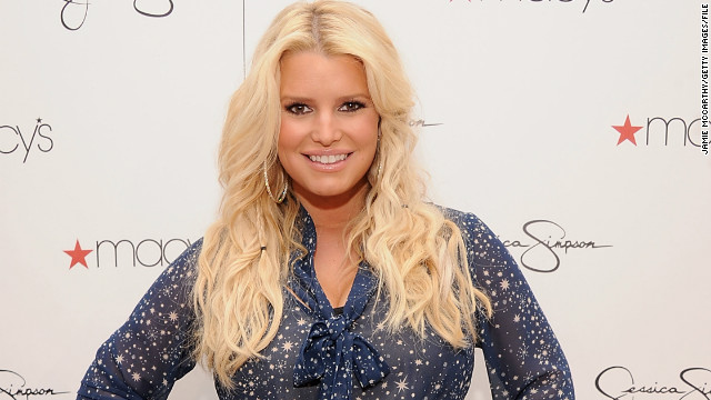 Jessica Simpson is expecting