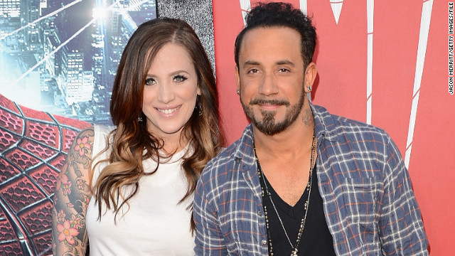 Backstreet Boys singer AJ McLean is a dad