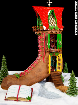 The Grove Park Inn is also home to the National Gingerbread House Competition, which it has hosted for the past two decades.