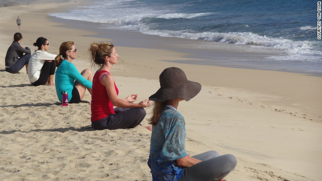 Viia Yoga, a company that hosts yoga retreats in Mexico and Costa Rica, offers a discount for anyone willing to give up their iPhone.