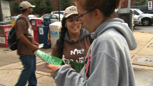 The $55 million program paid teens $8.75 an hour to distribute fliers with positive messages.