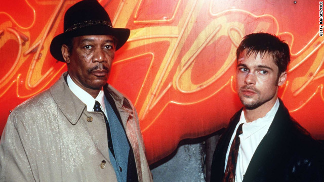 In 1995, Pitt had another breakout role in the thriller &quot;Se7en,&quot; in which he co-starred with Morgan Freeman.