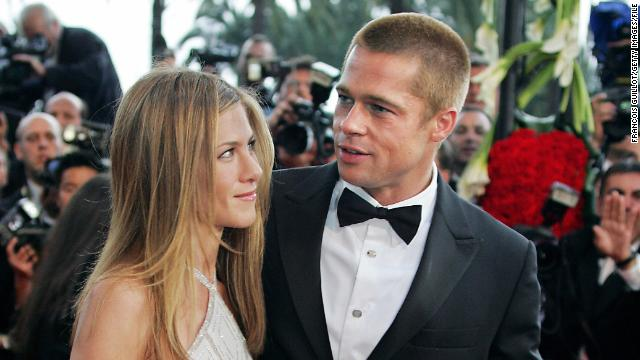 When Pitt and Aniston arrived for the premiere of &quot;Troy&quot; at Cannes in May 2004, they were just months away from announcing the end of their marriage. That news came with a formal statement in January 2005.