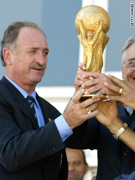 Luiz Felipe Scolari first took over Brazil in 2001, turning around their 2002 World Cup qualification campaign and leading them to a record fifth tournament win in Japan and South Korea.