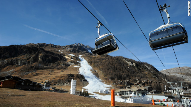 "The 2011 ""Criterium de la Premiere Neige"" race had to be canceled due to a lack of snow on Val d'Isere's slopes. Hours after the decision was taken to call it off, the village was covered by a downfall but it was too late."