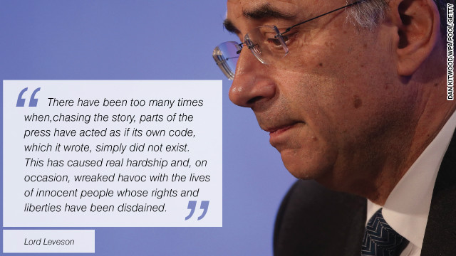 Leveson Inquiry: What key players said