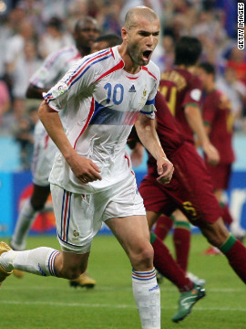 "Portugal bounced back and reached the last four of the 2006 World Cup in Germany. But Scolari's team ran into a Zinedine Zidane-inspired France in the semifinals, with ""Zizou"" scoring the winning penalty."