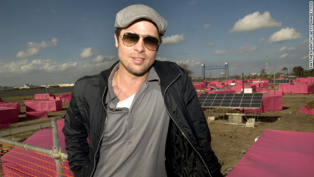 "Along with his partner Jolie, Pitt made an effort to give back. Through his <a href='http://makeitright.org/about/' target='_blank'>""Make It Right""</a> organization, which builds sustainable homes for communities in need, he planned the construction of 150 eco-friendly homes in the Lower Ninth Ward of New Orleans."