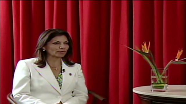 Laura Chinchilla: Creímos ser sólo zonas de paso del narco