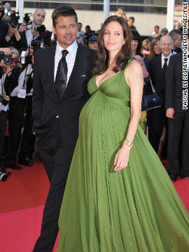 "By 2008, Pitt and Jolie's family had grown to include six kids as the couple welcomed twins that July, following the May ""Kung Fu Panda"" premiere at Cannes, as seen here."