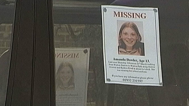 Milly Dowler disappeared in March 2002 whch sparked a nationwide hunt.