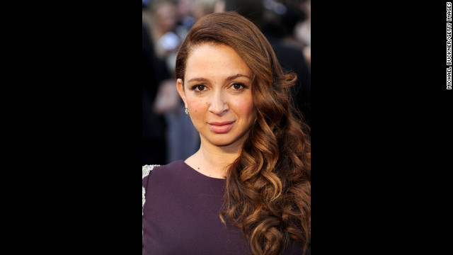 Funny lady Maya Rudolph, of &quot;Up All Night,&quot; joined Club 40 this year.