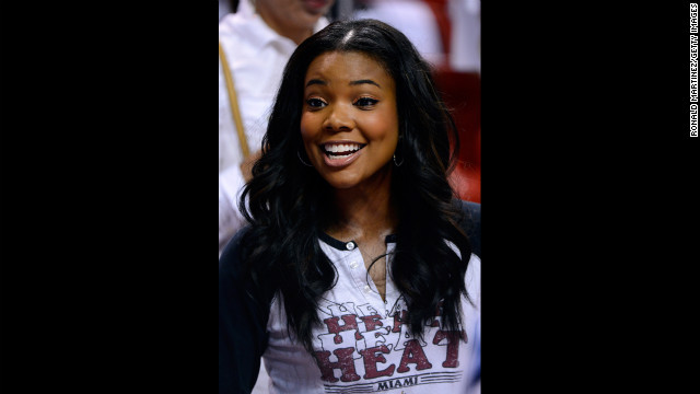 Movie star Gabrielle Union wears 40 well.