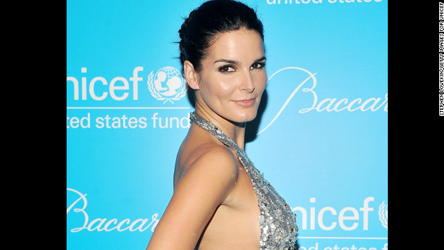 Star of &quot;Rizzoli and Isles&quot; Angie Harmon is 40.