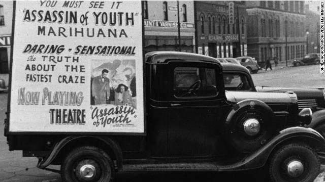Opponents of marijuana in the 1930s used employed similar tactics as those who sought to ban alcohol.