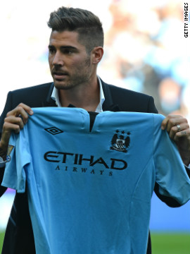 Manchester City was the highest spender when it came to agents' fees, paying out close to $17million. Manager Roberto Mancini was busy in the transfer market, bringing in the likes of Javi Garcia from Benfica.
