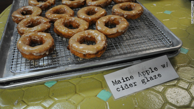 Maine residents manic for potato donuts