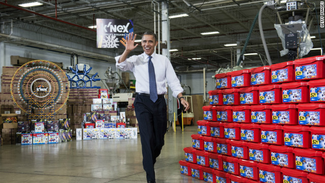 Obama warns he's got 'naughty and nice list'