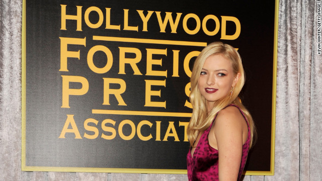Clint Eastwood's daughter named Miss Golden Globe 2013
