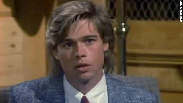 TV fans might remember a youthful Brad Pitt launching his career with appearances on &quot;Another World,&quot; &quot;21 Jump Street&quot; and &quot;Dallas&quot; in his early 20s. Here, he's seen as a recurring character named Randy on &quot;Dallas,&quot; a role he held from 1987-1988.