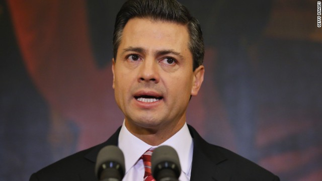 """Peña Nieto dice que indagatoria a Gordillo irá hasta sus """"últimas consecuencias"""""""