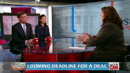 Sens. Warner, Ayotte clash over fiscal cliff proposals