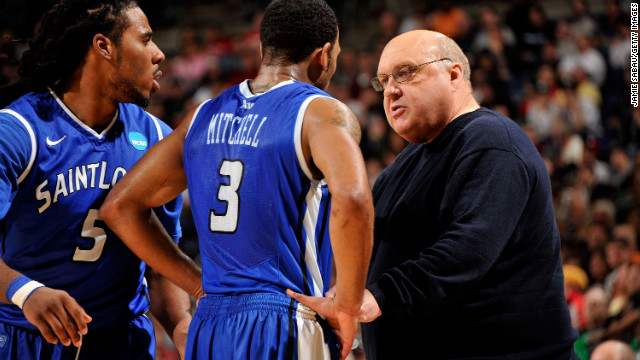 In 25 years, Rick Majerus coached at four schools, taking 12 teams to the NCAA tournament.