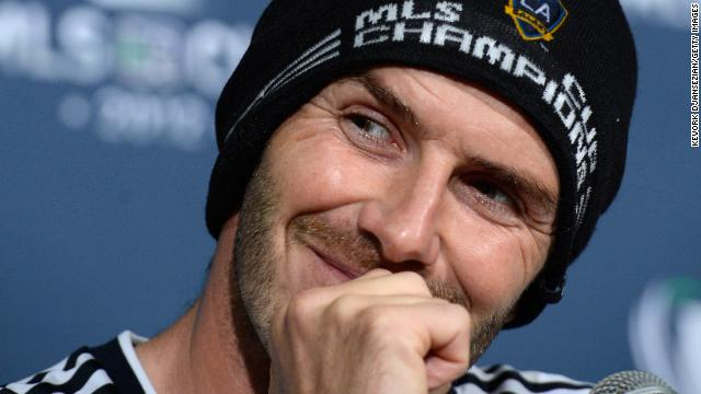 Photos: David Beckham\'s last U.S. game