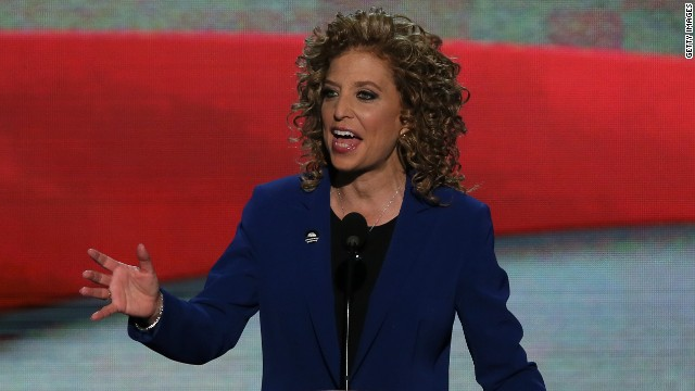 Obama wants DNC chair to stay on the job