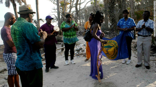 &quot;The Gullah/Geechee nation is an extremely tightly knit community,&quot; says Queen Quet.