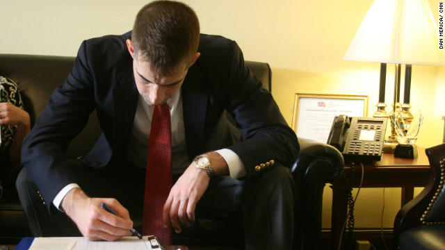 Congressional freshman, Tom Cotton