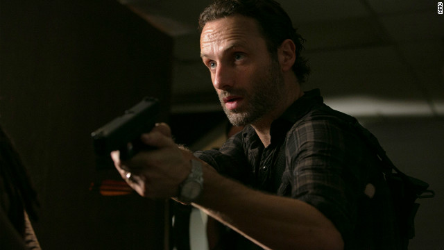 A fateful confrontation on 'The Walking Dead'