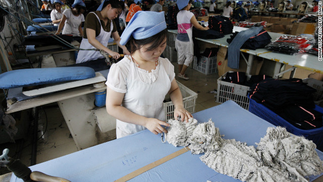 China's manufacturing sector expanded at its fastest pace in two years. 