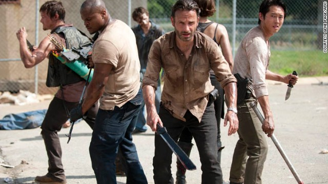 AMC's &quot;The Walking Dead&quot; is in its third season. Starring Andrew Lincoln, Norman Reedus and Laurie Holden, the zombie drama is one of the &lt;a href='http://www.cnn.com/2012/10/23/showbiz/tv/walking-dead-broadcast-tv-ew/index.html' target='_blank'&gt;best-rated shows&lt;/a&gt; on TV.