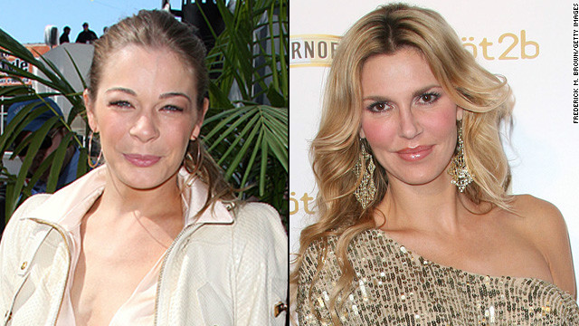 The LeAnn Rimes, Brandi Glanville feud is still happening