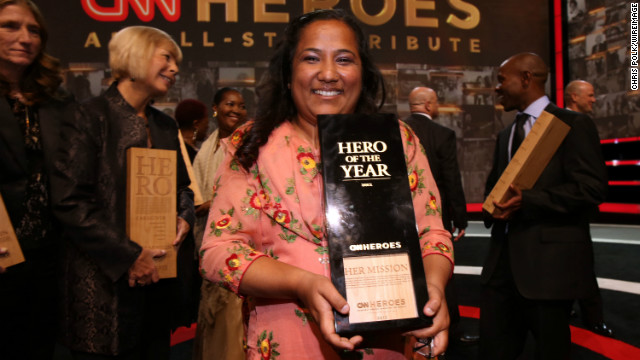 Children&#039;s campaigner Pushpa Basnet named CNN Hero of 2012