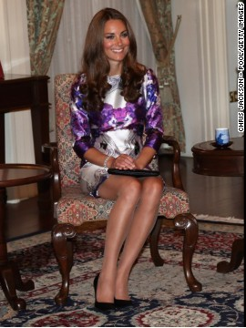 "She wore a Prabal Gurung dress while visiting the Istana in Singapore on September 11. ""So xctd that I just stopped some strangers on the street n showed them the pic of Kate Middleton in our dres,"" Prabal Gurung tweeted that day."