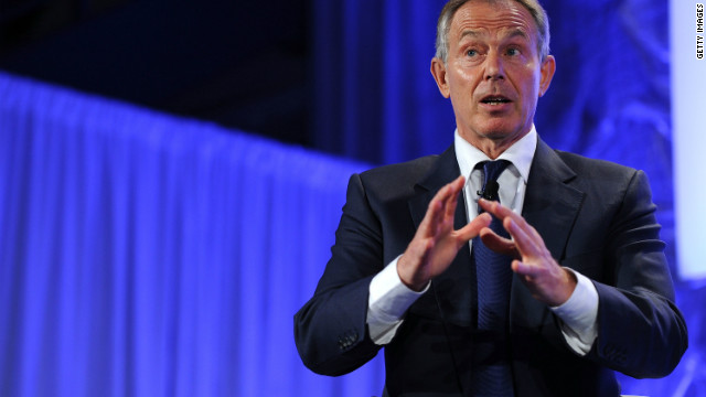 Blair: Sort out the fiscal cliff